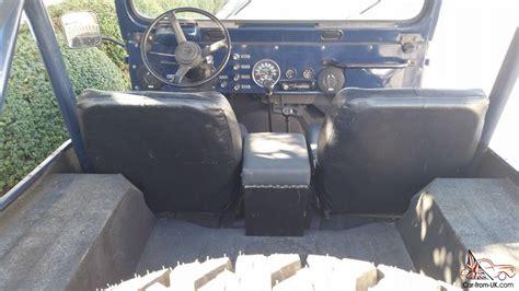 cj jeep interior jeep cj cj cj5