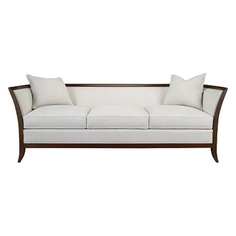 Sofas With Wooden Frames Wood Sofa With Cane Paneling And
