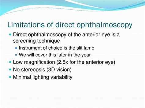 direct ophthalmoscopy ppt video online download ppt direct ophthalmoscopy powerpoint presentation id 3092065