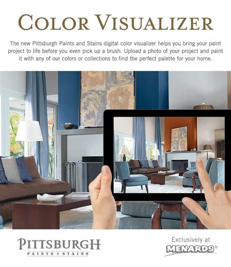 paint color visualizer the new pittsburgh paints and stains digital color