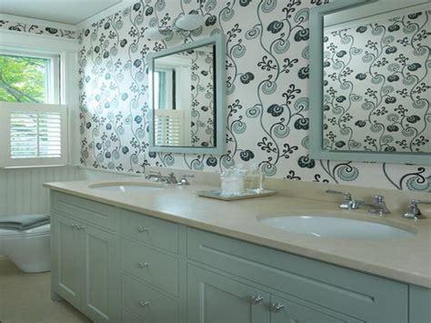 blue bathroom wallpaper awesome blue bathroom wallpaper your dream home