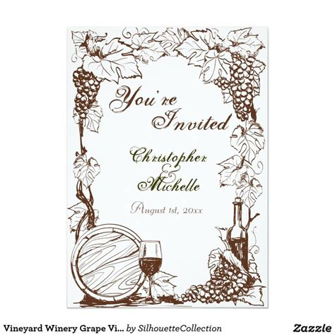 5x7 sketchbook vineyard winery grape vines sketch wedding 5x7 paper