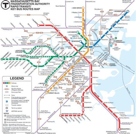 boston map subway take the mbta to do in boston