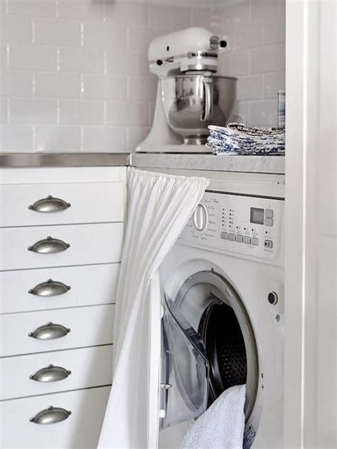 washing curtains in washing machine 23 creative ways to hide a washing machine in your home