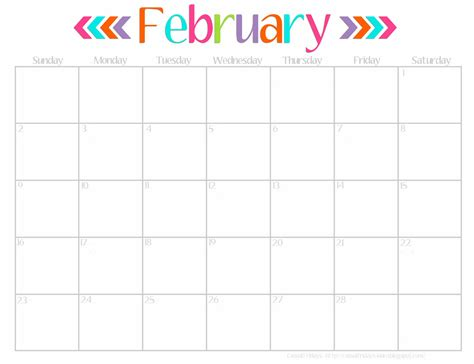 2016 calendar printable free 8 best images of cute printable 2016 monthly calendar