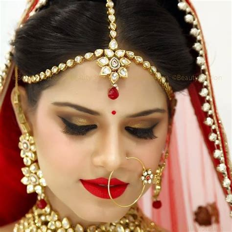 Best Bridal Images by Image Gallery Indian Bridal Makeup
