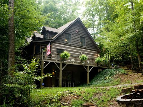 luxury log cabin in blue ridge mountains black mountain nc
