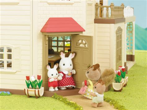 Sylvanian Family Maple Manor With Carport by Sylvanian Families Catalogue S Collection