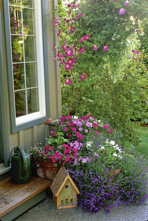 Hanging Flower Garden Hanging Basket Photos Design Ideas Remodel And Decor