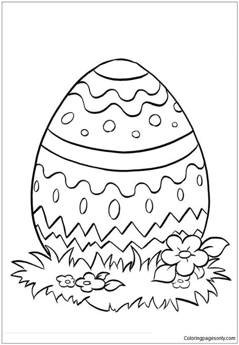 easter egg coloring pages christian religious themed easter egg coloring page free coloring