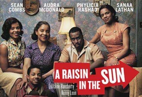 themes for a raisin in the sun a raisin in the sun