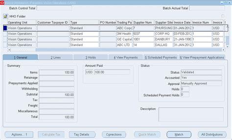 tutorial ap module oracle apps how to run ap list for oracle payableshow to run ap list