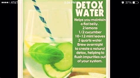 Detox Stomach Pads by Great Detox Water For A Flatter Stomach Trusper
