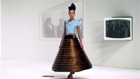 themes taken by fashion designers hussein chalayan s intellectual take on fashion inspires