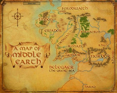 map of middleearth map of middle earth wallpapers wallpaper cave