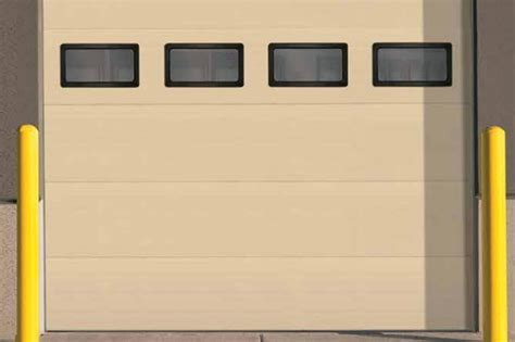 sectional overhead doors thernacore sectional steel doors 850 advanced