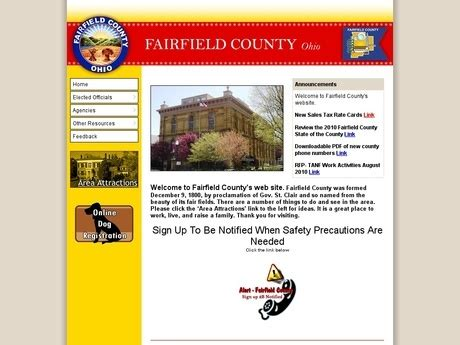 Fairfield County Court Of Common Pleas Search Heisig Court Reporting Services Sponsors Fairfield Ohio Searches