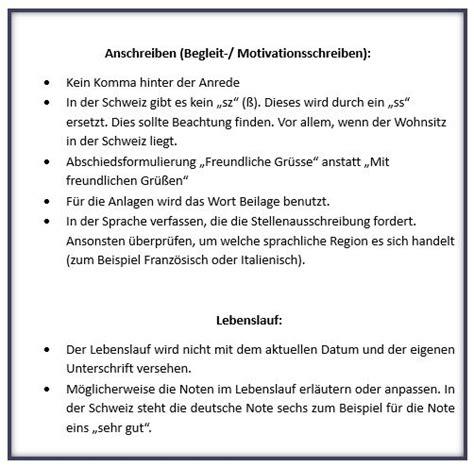 Unterschiede Bewerbung Deutschland Schweiz Schweiz Auswandern In Die Schweiz Zwischen Aufenthaltsbewilligung Umzug Und Schweizer Kultur