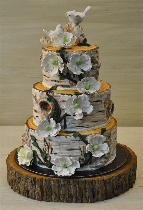Hochzeitstorte Baum rustic wedding cakes pictures the cake zone birch tree