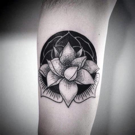 lotus tattoos for men 100 lotus flower designs for cool ink ideas