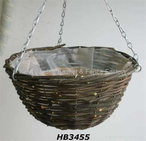 Hanging Planter Basket by Rattan Hanging Basket Hanging Flower Basket Hanging