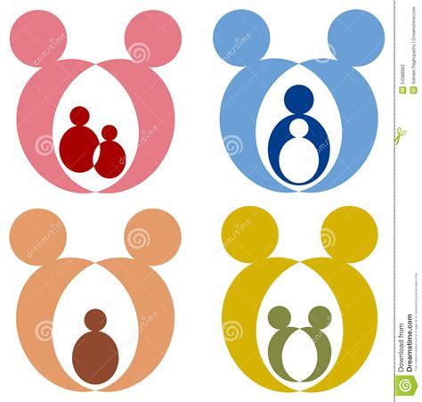 kids logo design stock illustration image of childhood family logo stock vector image of children baby caring