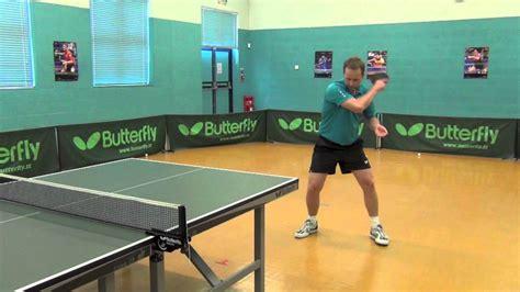 how to play table tennis how to play table tennis backspin backhand