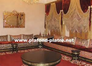 photos et mod 232 les de salon marocain traditionnel plafond