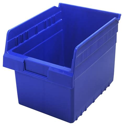 Plastic Shelf Storage Bins by Plastic Bins 8 Quot Shelf Storage Bin Qsb807 11 5 8 X 8 3