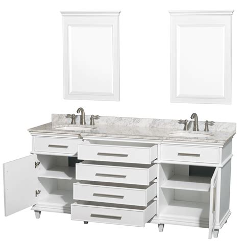 white double bathroom vanity avola windsor 72 inch classic white finish double