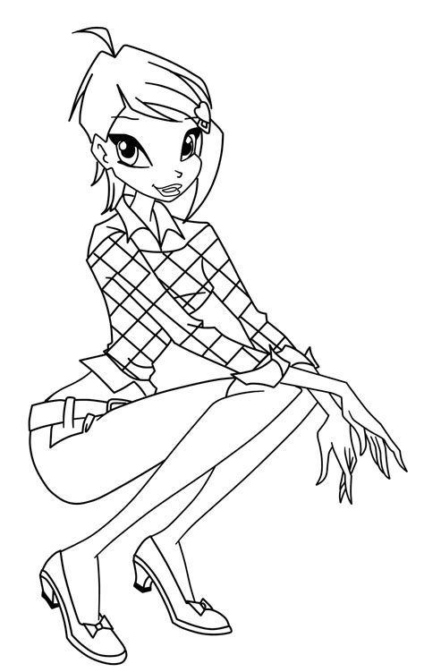 Free Printable Winx Club Coloring Pages For Kids Winx Club Coloring Page
