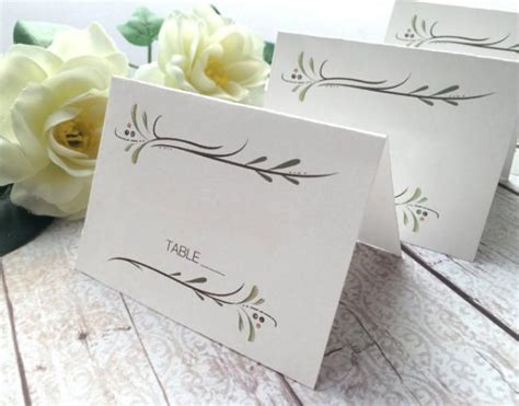 wedding card or name wedding place cards wedding cards botanical country wedding name cards rustic