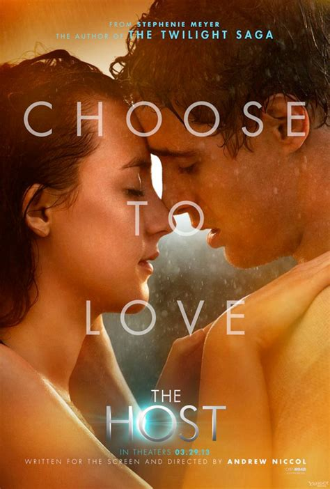 film romance fantasy 3 posters for the sci fi alien romance film the host
