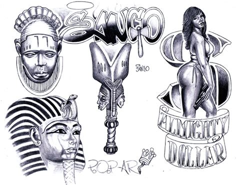 ghetto urban tattoo designs flash pictures to pin on tattooskid
