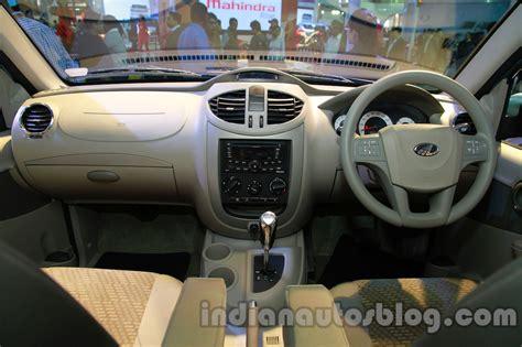 Mahindra Quanto Interior by Mahindra Quanto Autoshift Amt Dashboard View At Auto