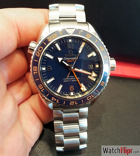 Live Shots: Omega Seamaster Planet Ocean 600M GoodPlanet GMT   Watch Flipr
