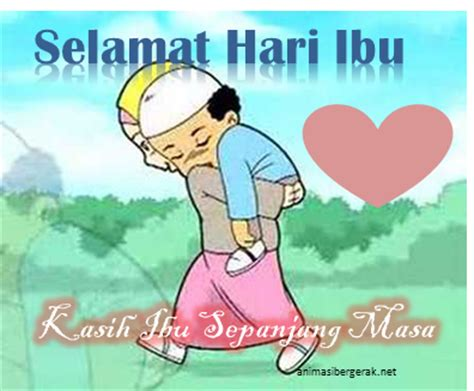 Ucapan Anak Muslim Sehari Hari 4 gambar animasi bergerak selamat hari ibu happy