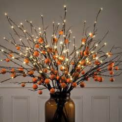 lighted led branches fall decor 39 quot improvements catalog