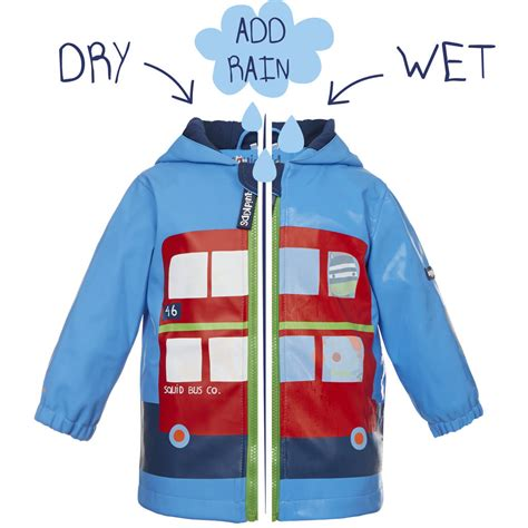 color changing jacket child s colour changing jacket by squid