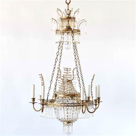 bronze chandelier w branch forms the big chandelier