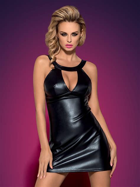 perizoma bagnato abiti wetlook pvc intimo abbigliamento moda donna