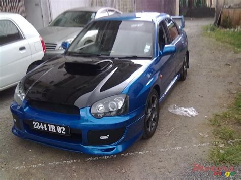 subaru mauritius 2002 subaru wrx sti for sale 260 000 rs curepipe