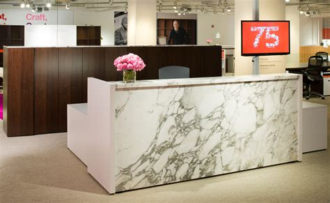 Knoll Reception Desk Reff Profiles Knoll Knoll Reception Desks Workplace And Marbles