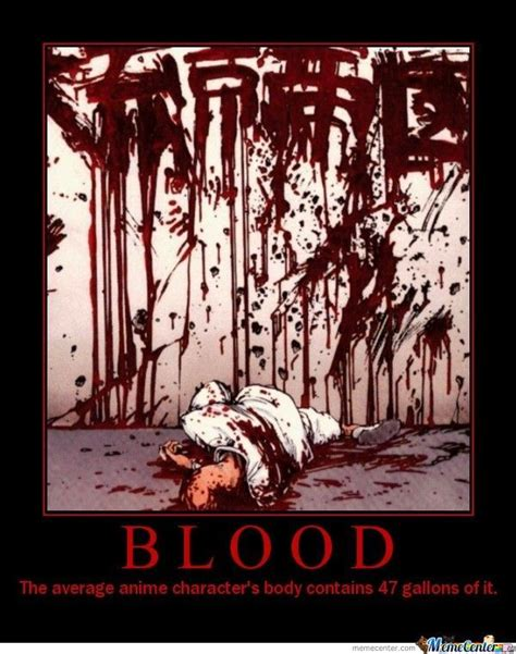 Blood Meme - blood by animefreak meme center