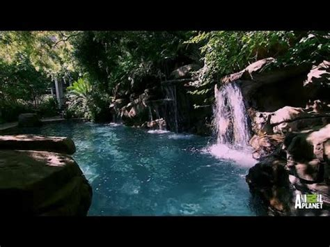 Backyard Pools Tv Show A Pool That Emulates Nature The Pool Master