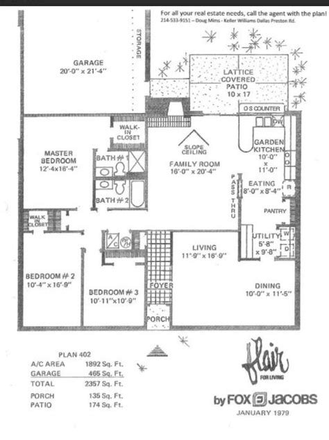 Fox And Jacobs Floor Plans | the fox jacobs flair our new old house our new