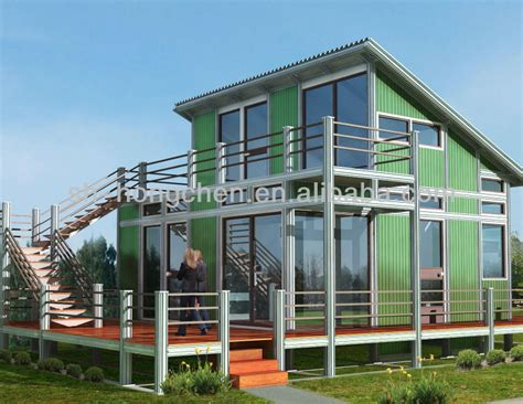 modern low cost color steel prefab house prefabricated