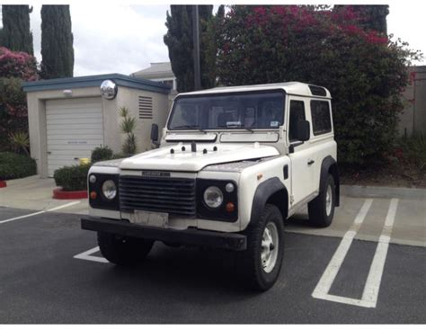 land rover ninety land rover ninety 2 5 litre diesel turbo for sale in