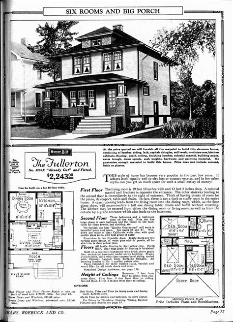 sears homes floor plans the fullerton sears home i love the porch my style