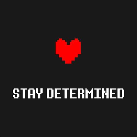 Wall Stickers Create Your Own stay determined undertale determination t shirt